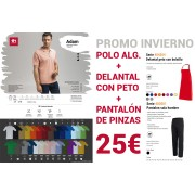 POLO + DELANTAL + PANTALON 25€ !!!